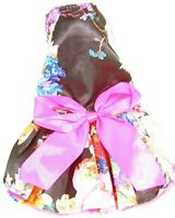 "Pet Palace® ""Femme Flower"" Floral Dog Dress weddings & special occasions attire"