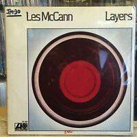 [SOUL/JAZZ]~EXC LP~LES MCCANN~Layers~[Original 1974~ATLANTIC~Issue]