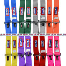 "Rjs Racing Equipment Seat Belt Harness 1074708; 3.000"" Purple 6-Point Cam-Lock"