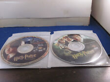 Harry Potter   dvd  lot of 4 discs  no packaging Sorcerers stone-Chamber secrets