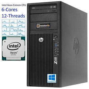❻ -core Extrem HP Z420 Workstation Xeon E5-1660, 64GB ram, 512GB SSD quadro