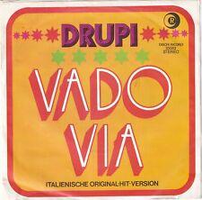 "<6174-58> 7"" Single: Drupi - Vado Via"