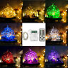 5M 66LEDs String Copper Wire Fairy Light 9-Modes Remote Timer ON/OFF
