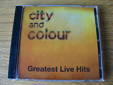 CD Double: City And Colour : Greatest Live Hits : Limited Edition