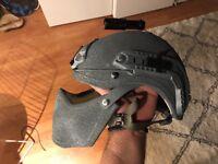 Army Helmet, Military Ballistic Full Face Helmet, NIJ 3A