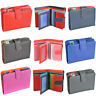 Mywalit Medium Leather 9 Card Tab Wallet With Zip Purse In Various Colours 390