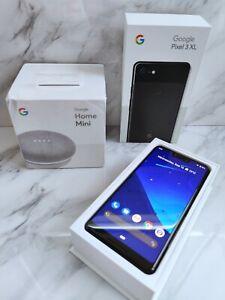 Google Pixel 3 XL - 128GB - Just Black (Unlocked) & BONUS Google Home Mini