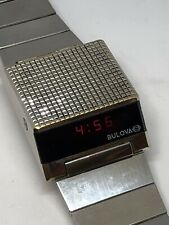 BULOVA COMPUTRON CELULAR LED 228  VINTAGE