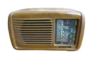 Piccola radio antica marca  Minerva -  anni 50/60 da revisionare - molto bella