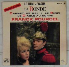 La Ronde 45 tours Michel Magne Roger Vadim 1964 Franck pourcel