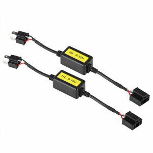 Nighteye H4 LED Headlight Canbus Conversion Kit Decoder Canceller Load Resistor