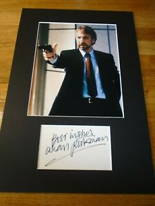 Alan Rickman Genuine Signed Authentic Autograph - UACC / AFTAL.