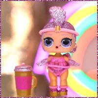 LOL Surprise Showbaby NEW Sparkle Series Glitter Feather Showgirl Baby Doll NEW