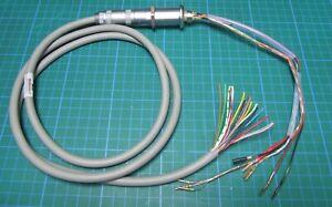 20mm x 30mm 16 circuit Vacuum feedthru feedthrough LEMA connector