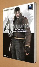 Residente Evil Biohazard 4 gc japonés Guide solución libro 21x15cm/287 páginas