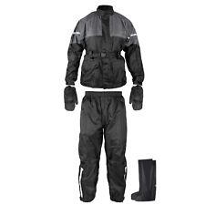 Tuta Anti Pioggia Acqua Impermeabile Giacca Pantalone Copri Guanto Stivale Moto