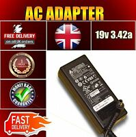 POWER SUPPLY FOR TOSHIBA SATELLITE C660-28T  LAPTOP CHARGER ADAPTER 19V 3.42a