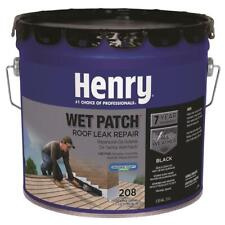 New listing Wet Patch Roof Cement 3.3 Gal. Leak Repair Chimney Gutter Flashing Vents Black