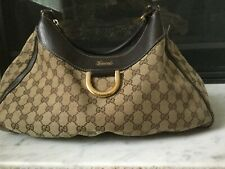Gucci GG Ring Hobo Bag Authentic