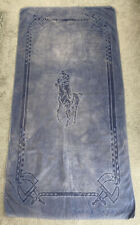 Authentic Ralph Lauren Blue Cotton Beach/Bath Towel