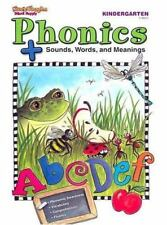 Phonics + Sounds, Words, Meanings - Answer Key - K Kindergarten - Steck Vaughn