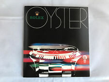 Catalogue + liste de prix Rolex Oyster catalogue-German - 1982-Montres Watches
