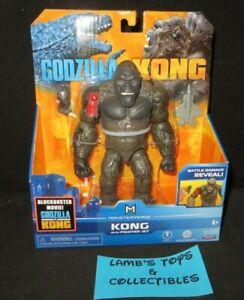 Battle Damage Reveal King Kong with Fighter Jet Monsterverse Godzilla vs Kong