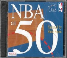 NBA at 50 narrated by Hubie Brown S.E.A. Multimedia {CD} Brand New Sealed!