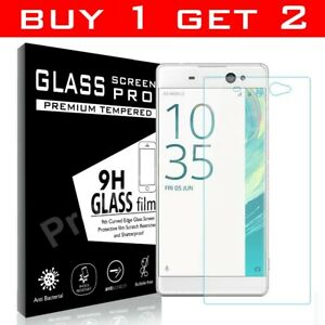 Genuine TEMPERED GLASS Screen Protector Cover For Sony Xperia XA Ultra