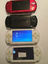 4 x SONY PSP FAULTY SPARES REPAIRS HANDHELD CONSOLES 3001 3003 & 2x1003
