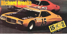 CD_1324 #15 Dick Brooks - Bud Moore '72 Torino  1:64 Scale Decals ~OVERSTOCK~