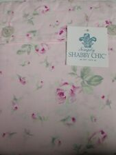 Simply Shabby Chic Antique Garden Pink Green Rose Rosebud Sheet Set - Queen