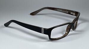Maui Jim Atoll Black/Tan Sunglasses MJ220-02 56[]17-L.135 Frame Only