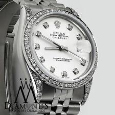 Rolex 16030 31mm White Color Diamond Datejust Stainless Steel Jubilee Bracelet