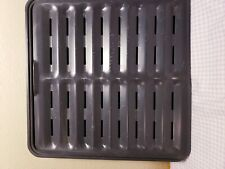 Ronco Showtime Rotisserie Drip Tray Pan with Grate Replacement Models 4000 5000