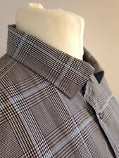 Jaeger Checked Business-Regular Collar Formal Shirts for Men