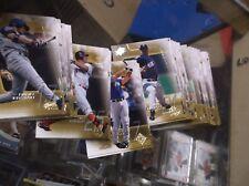 2001 UPPER DECK SPX BASEBALL BASE SET 90 CARDS NM/MT