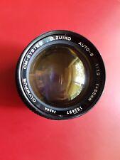 OLYMPUS OM-SYSTEM G.ZUIKO AUTO-S 55mm F/1.2 MF Lens From Japan