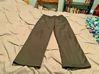 UNDER ARMOUR STORM Boy's Black Pants. Size Large   USA FREE SHIPPING!