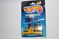 HOT WHEELS WORKHORSES ROAD ROLLER #3853 IN THE BLISTER PACK