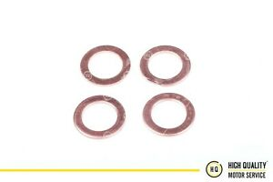 Copper Sealing Ring Set of 4, Bottom Injector Washer Kubota 15841-53622, V2203