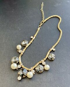 Fashion Necklace, Pearl And stone Theme