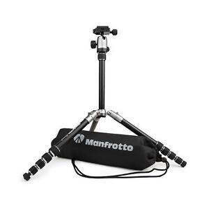 Manfrotto Element Traveller Kit klein grau Kamerastativ Stativ mit Kugelkopf