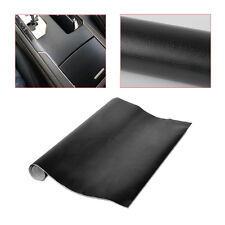 150 x 50cm Black Leather Texture Car Sticker Vinyl Wrap Auto Inner Decal Film