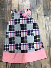 Gymboree Girls Flower dress Plaid Patchwork Pink Wedding Easter Nwt 4t