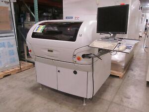 DEK Horizon 265 Stencil Printer Fully Automatic Green Camera 01 02 03 PCB MPM
