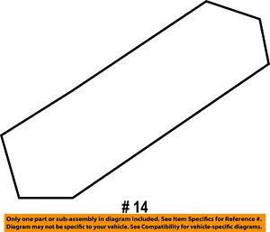 FORD OEM Sunroof-Slide Left 7T4Z78502M79A