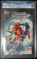 Amazing Spider-Man #700 Marvel Comics CGC 9.8 White Pages Ramos Variant Cover