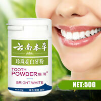 50g Teeth Whitening Powder Pearl Tooth Stain Removal Dental Care Oral Hygiene