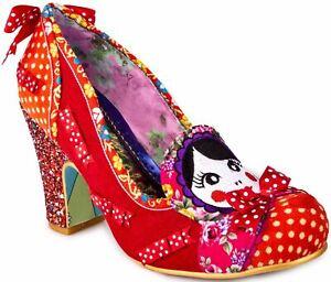 Irregular Choice Matryoshka Memories Red Womens Heels Shoes